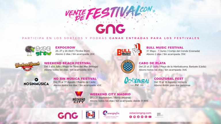 Estacion GNG Festivales